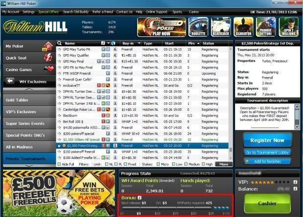 william-hill-poker-bonus-meter