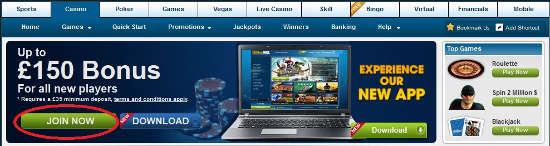 william hill casino club welcome bonus