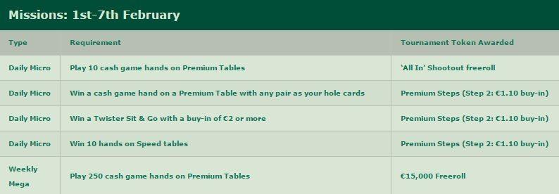 bet365-poker-mission-month-week-1