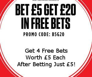 Ladbrokes Promo Code for Free Bets & Free Spins