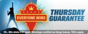 Coral Bingo Thursday Guarantee