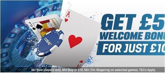 Coral Casino Bonus Deal