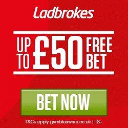Ladbrokes Promo Code free bet