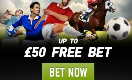 Get a £50 risk-free sports bet from Ladbrokes Sports.