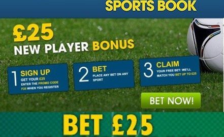William Hill Sports will give you a free sports bet!