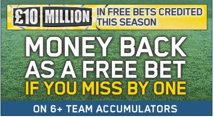 William Hill Enhanced Odds Special Bets