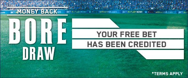 William Hill Football Promotions & Free Bet Offers for Existing Customers