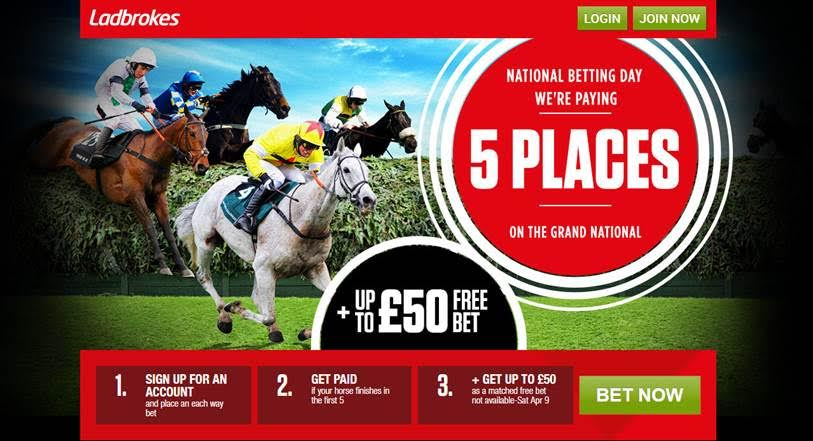 free grand national bet