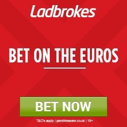 Euro 2016 – Sign-up to Ladbrokes and Enjoy HUGE odds on England v Iceland