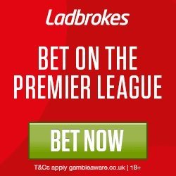 Bet on the Premier League with Ladbrokes