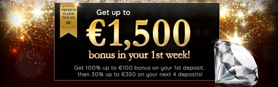 Double Your Money & Play with up to 400 bonus