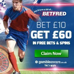 Betfred Promo Code & Welcome Bonus