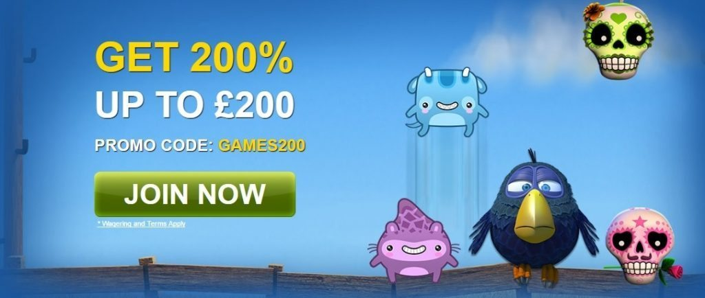 william hill games promo code