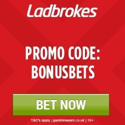 Ladbrokes Promo Code for 50 Free Bet