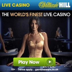 Win up to £1,000 Each Day at the William Hill Live Casino