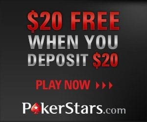 PokerStars Marketing & Bonus Codes for $/£20 FREE