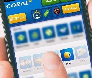 Coral Bingo Mobile App