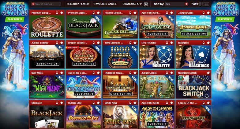 Coral Web Casino