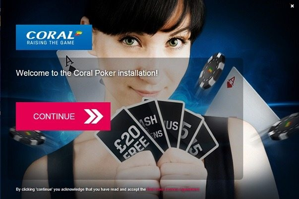 Coral Poker Installer