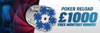 Coral Poker Monthly Reload Bonus