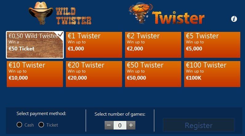 Coral Poker Twister Games