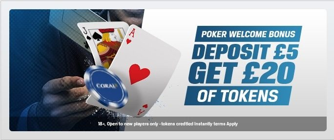 Coral Poker Free Tokens