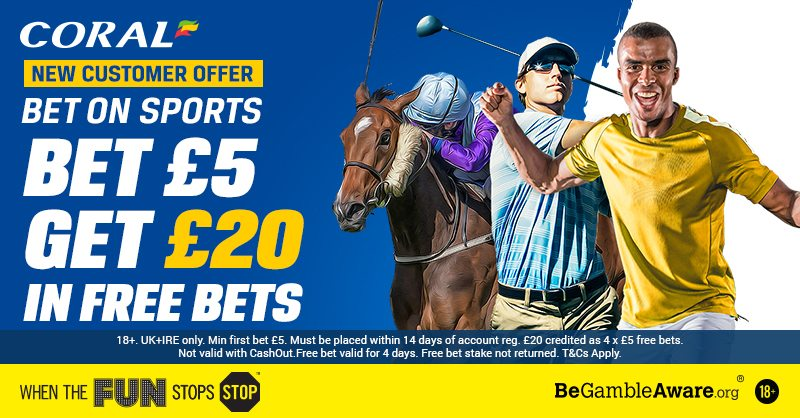 Coral Sports Free Bets