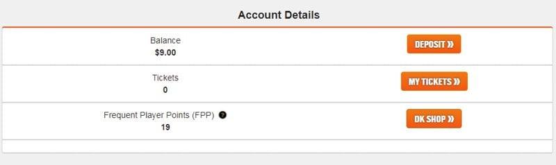 DraftKings' FPP Balance
