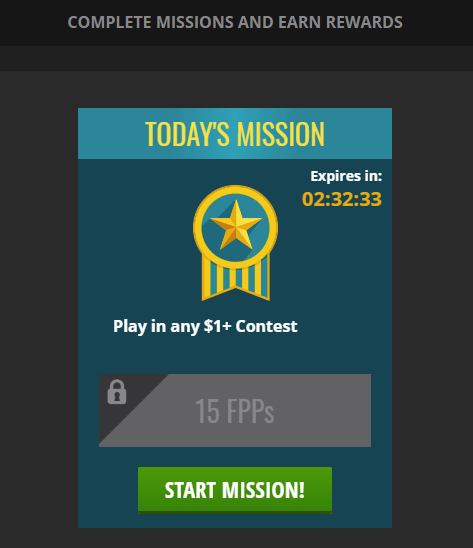 Earn FPPs through Daily Missions