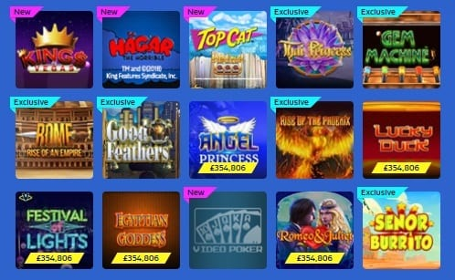 william-hill-vegas-exclusive-games