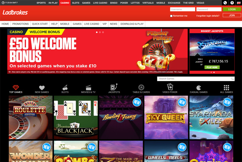 Ladbrokes £50 Welcome Bonus Sign In
