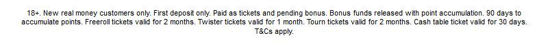 Ladbrokes Poker Bonus - Deposit Gets a 200% Bonus Terms