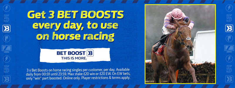William Hill Sportsbook Three Boosts