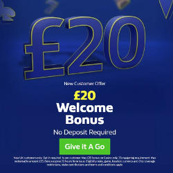 William Hill Casino £20 No Deposit Bonus Promo Code